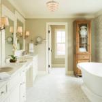 25 Beautiful Farmhouse Bathroom Designs