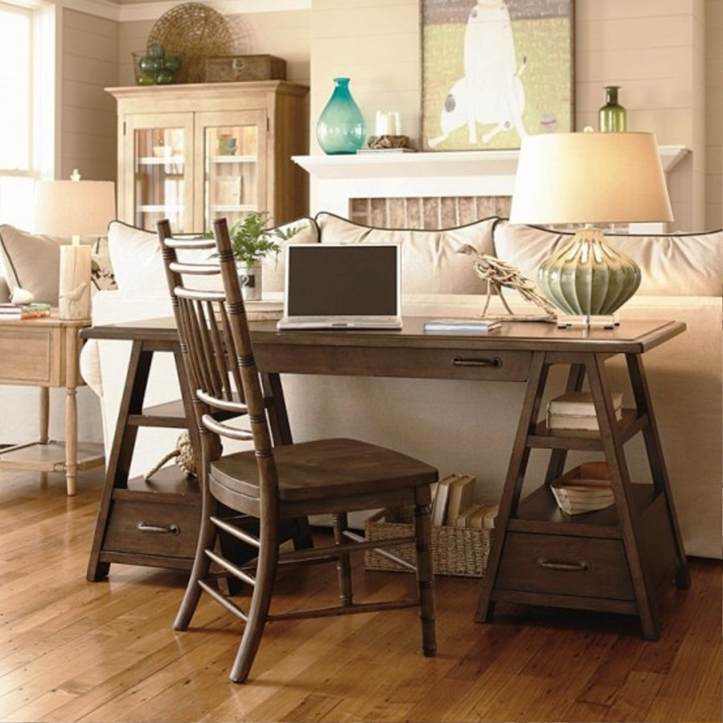 30 Incredible Home Office Den Design Ideas: 20 Great Farmhouse Home Office Design Ideas