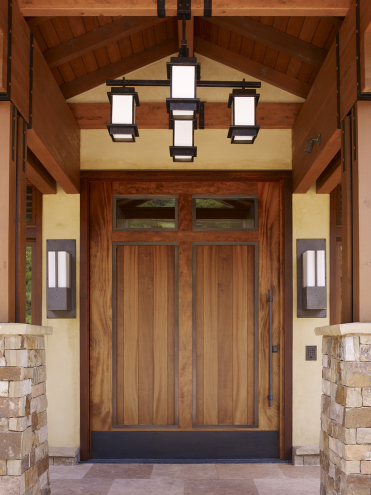 21 stunning craftsman entry design ideas for Art and craft home decoration