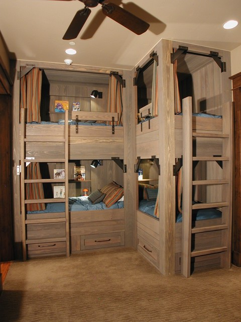 Farmhouse Kids Bedroom Design Ideas