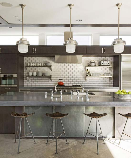 Industrial Elegant Kitchens