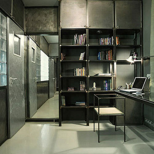 30 Incredible Home Office Den Design Ideas: 25 Amazing Industrial Home Office Design