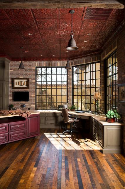 Inspiring-Rustic-Home-Office-Designs-