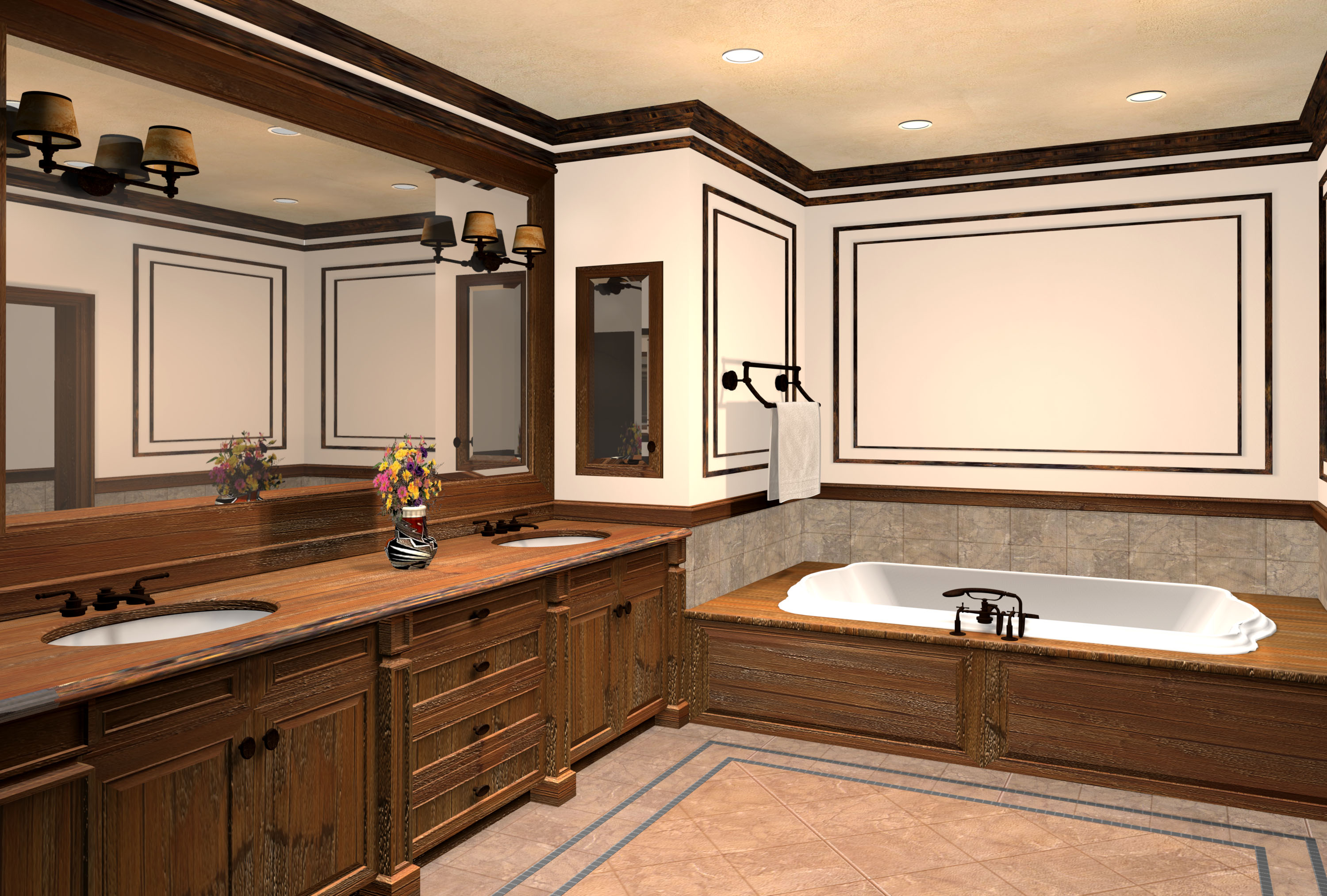 Luxurious Bathroom Design Ideassds