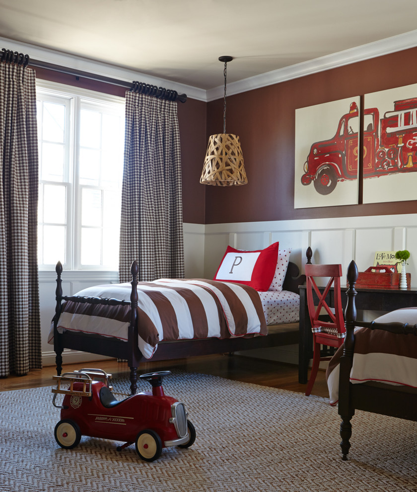 Vintage Kids Room: 20 Stunning Farmhouse Kids Bedroom Design Ideas