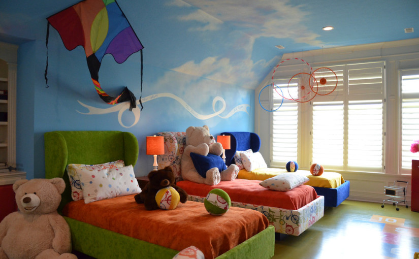 20 Marvelous Midcentury Kids Room Design Ideas
