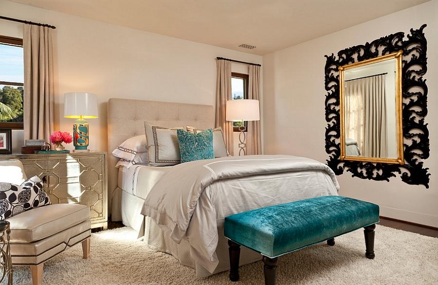 Mediterranean Bedroom Design idea