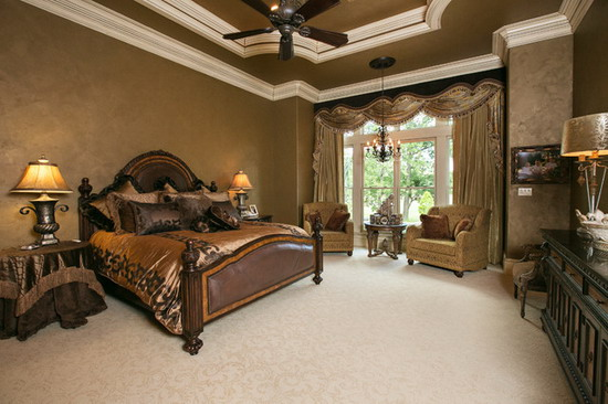Mediterranean-Bedrooms-in-Brown-Scheme Decorating Master Bedroom For Christmas on decorating for game room, decorating for guest bedroom, decorating for deck, hgtv dream home master bedroom, decorating for guest room, decorating for youth room, decorating for living room, decorating for hallway, decorating for kitchen,