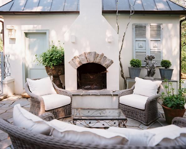Mediterranean Outdoor Kitchen Design---
