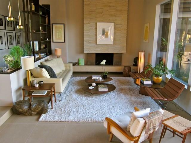 Mid-Century-Living-Room-Desig