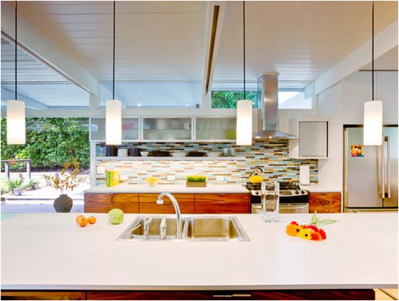 Mid Century Modern Kitchens22