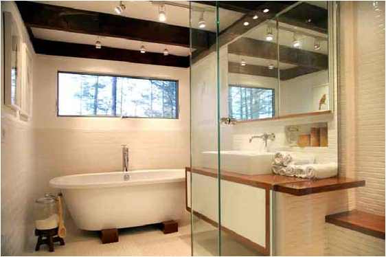 Mid-Century Modern bathroom designs1