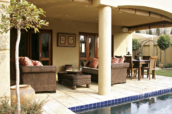 Modern Mediterranean Patio Outdoor design ideass