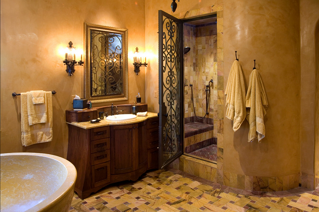 25 Amazing Italian Bathroom Tile Designs Ideas And Pictures: 20 Best Mediterranean Bathroom Designs