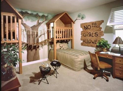 Rustic--Bedroom