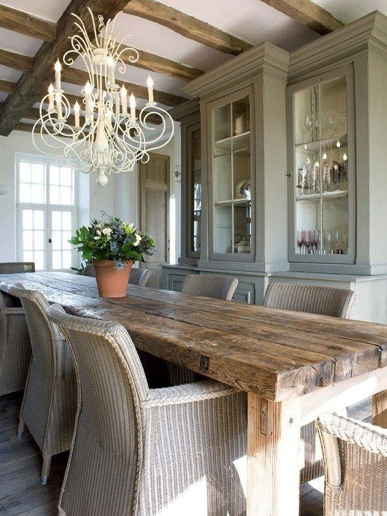 Rustic Dining Design