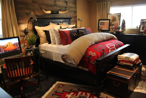 15 Stunning Rustic Kids Bedroom Designs