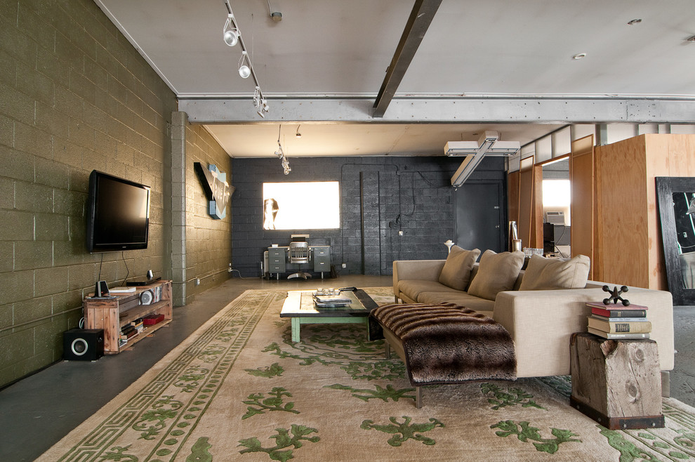 25 Stunning Industrial Basement Design