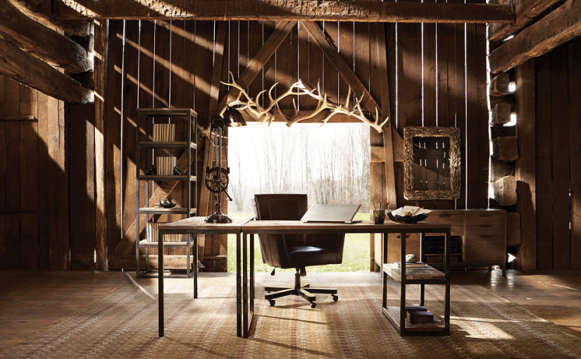 20 Great Farmhouse Home Office Design Ideas