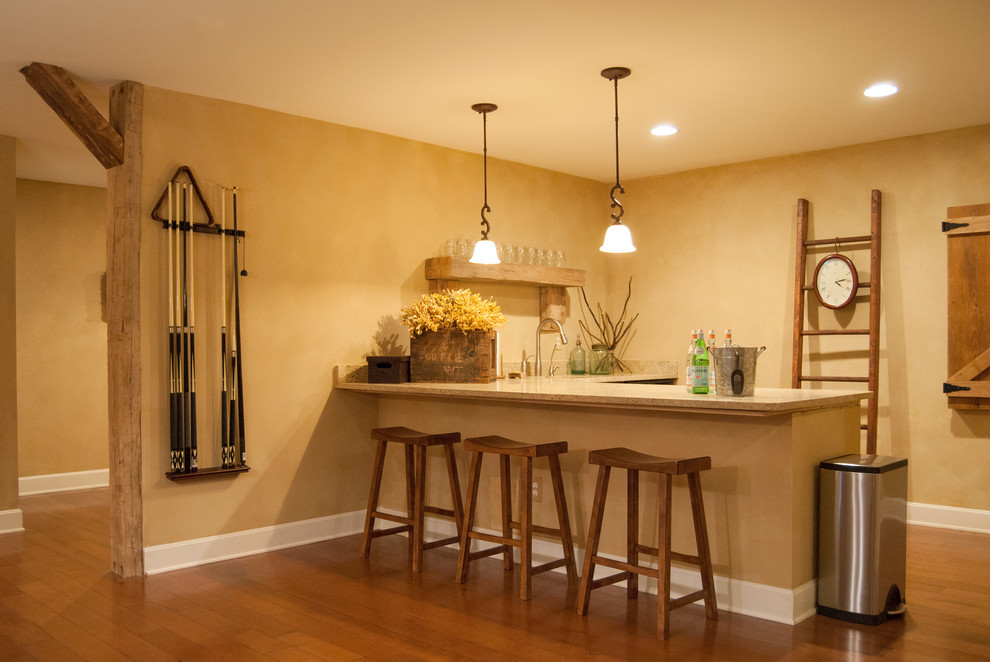 Trendy With Basement Wet Bar Design Ideas