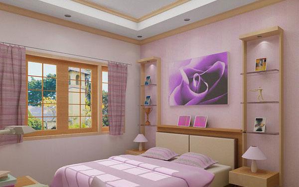 The-Purple-Painting-Of-Stylish-Teenage-Girls-Bedroom-Ideas