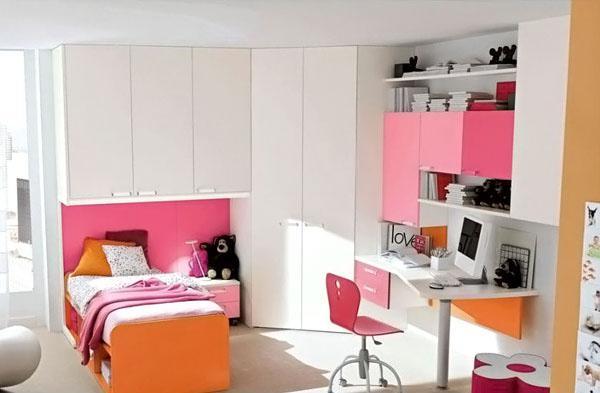 The-White-Wardrobe-Of-Stylish-Teenage-Girls-Bedroom-Ideas
