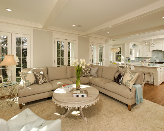 30 marvelous transitional living design ideas for Transitional living room decor