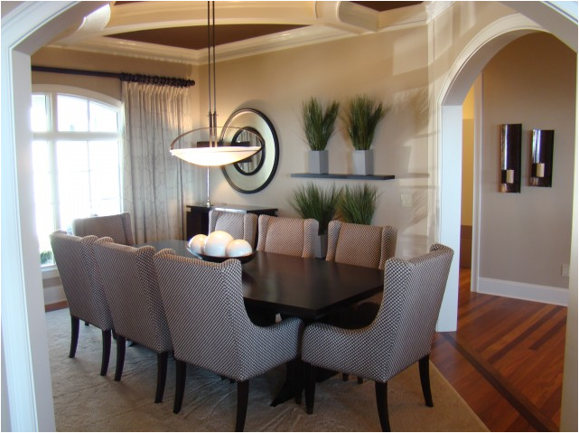 Terrific Transitional Dining Room Ideas Gallery