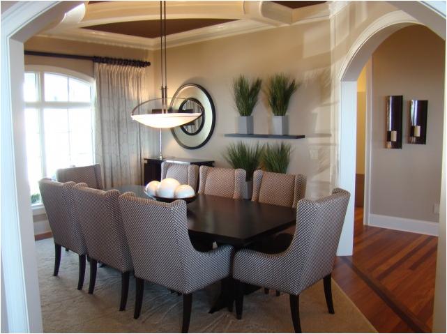 Transitional dining room designs-