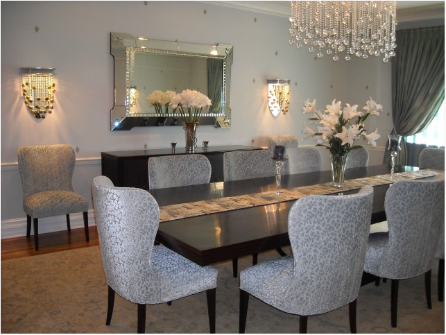 Attractive Transitional Dining Room Designs