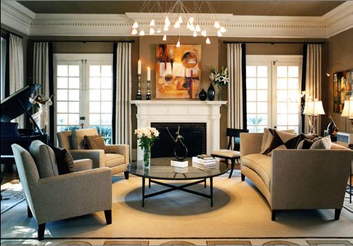 Transitional living room1