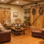15 Incredible Farmhouse Basement Design ideas