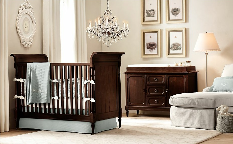 25 cute and attractive baby nursery design ideas wooden nursery furniture aloadofball Gallery