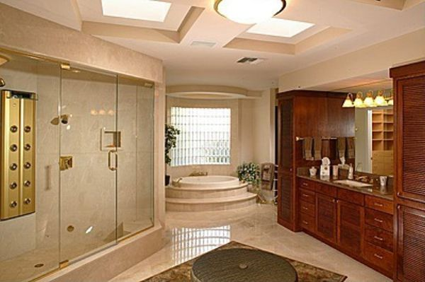 Mediterranean Style Luxury Bathrooms: 20 Best Mediterranean Bathroom Designs