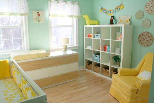 25 Cute and Attractive Baby Nursery Design Ideas