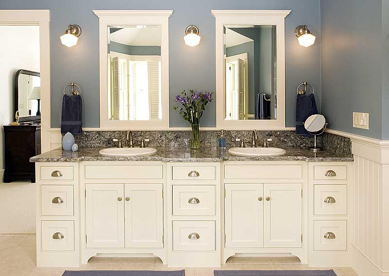 White Bathroom Cabinet Kemistorbitalshowco - Cheap white bathroom vanity