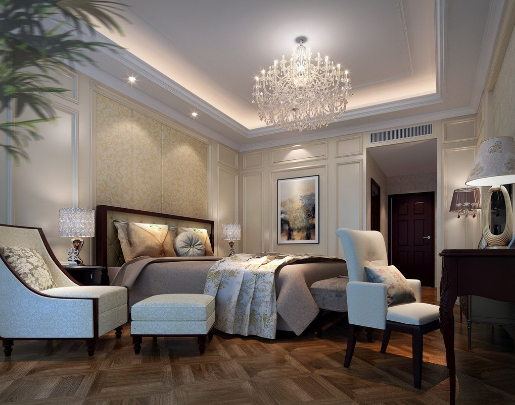 25 sleek and elegant bedroom design ideas for Elegant master bedroom designs