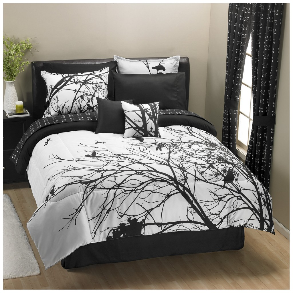 25 awesome bed sets for your home - Black and white bedding sets ...