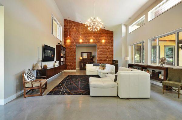 brick-living-room-high-ceiling