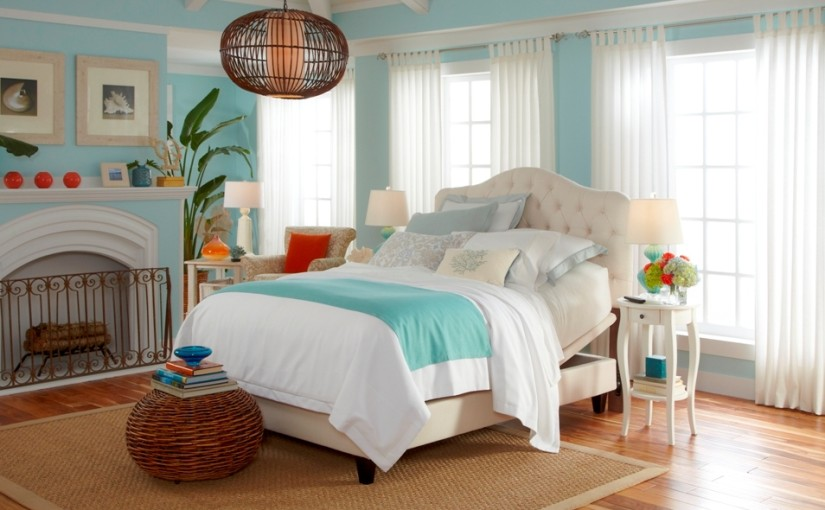 Coastal Decor Bedroom Ideas Beach Decorating Ideas