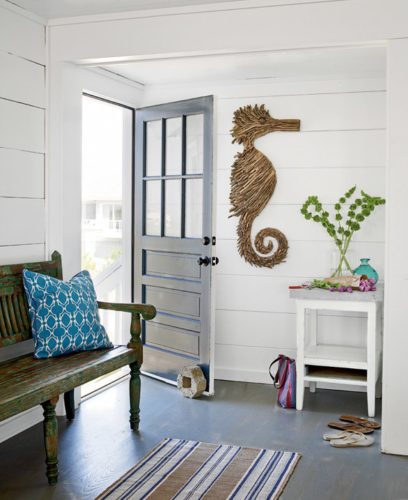 10 Beach House Decor Ideas: 25 Amazing Beach Style Entryway Decor Ideas