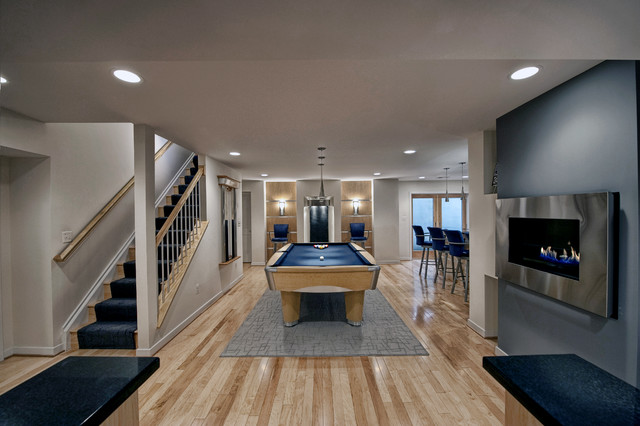contemporary-basement