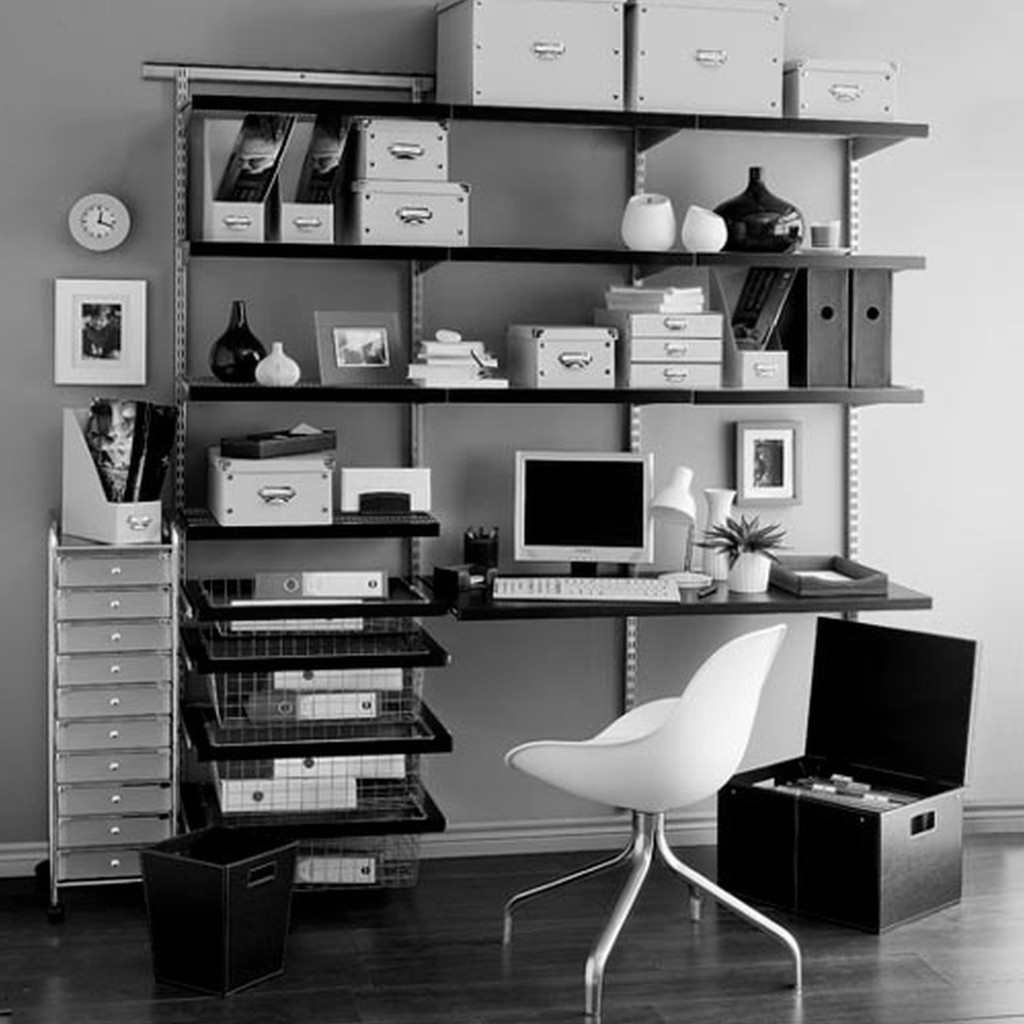 Chic Contemporary Furniture: 25 Amazing Industrial Home Office Design
