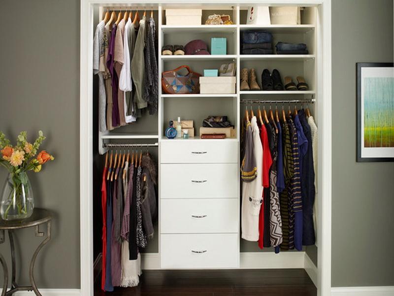 Contemporary Ikea Closet Organizer With Stylish Design