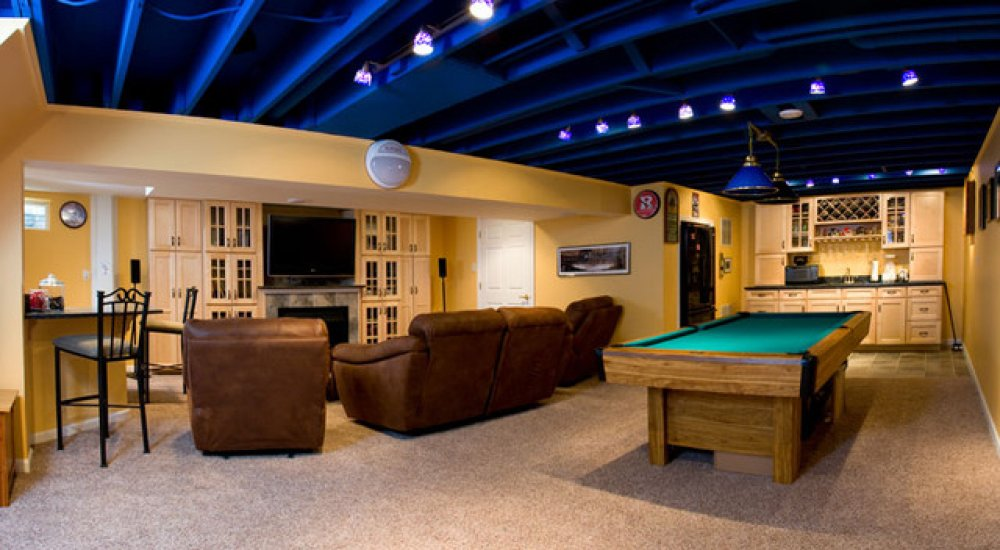 48 Stunning Industrial Basement Design Interesting Basement Design Painting