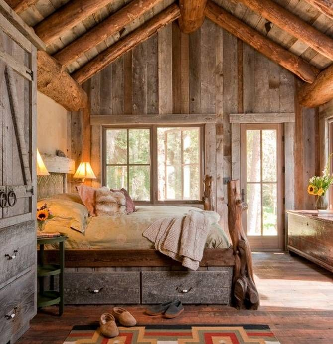 cozy rustic bedroom designs _ - Rustic Bedroom Design Ideas