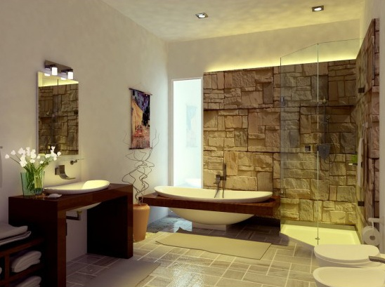 Beau Cozy Unique Bathroom Designs