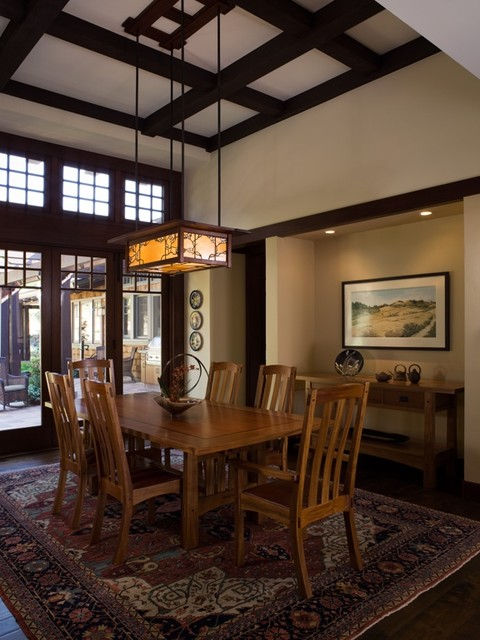 craftsman-dining-room