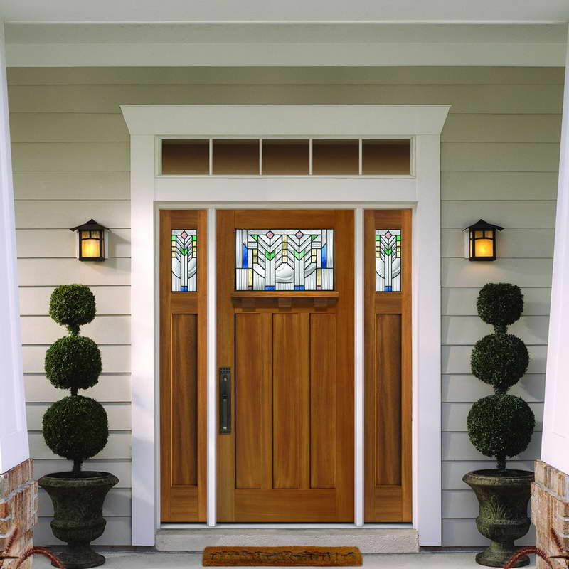 craftsman-style-front-door-ideas