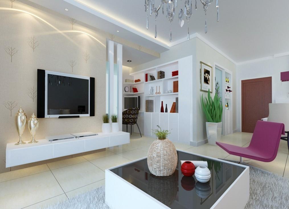 Creative Living Room Ceiling Design
